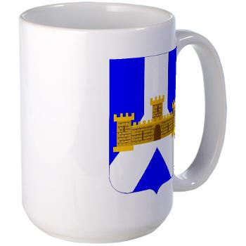 1B393RI - M01 - 03 - DUI - 1st Battalion - 393rd Infantry Regiment - Large Mug