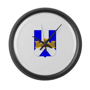 1B393RI - M01 - 03 - DUI - 1st Battalion - 393rd Infantry Regiment - Large Wall Clock