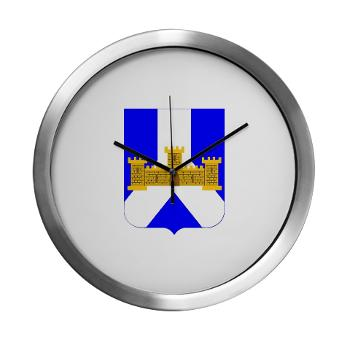 1B393RI - M01 - 03 - DUI - 1st Battalion - 393rd Infantry Regiment - Modern Wall Clock