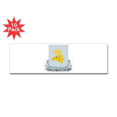 1B395RLS - M01 - 01 - DUI - 1st Bn - 395th Engineer Regt - Sticker (Bumper 10 pk)