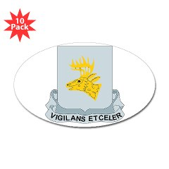1B395RLS - M01 - 01 - DUI - 1st Bn - 395th Engineer Regt - Sticker (Oval 10 pk)