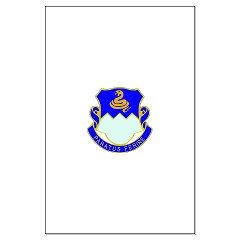 1B411R - M01 - 02 - DUI - 1st Battalion - 411th Regiment (LS) Large Poster