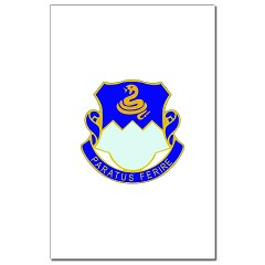 1B411R - M01 - 02 - DUI - 1st Battalion - 411th Regiment (LS) Mini Poster Print