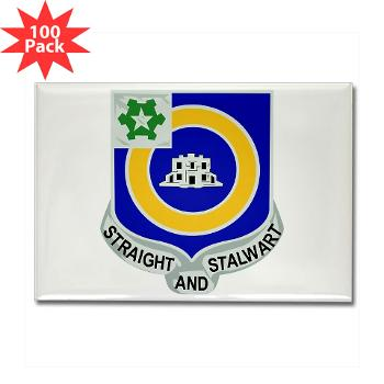1B41IR - A01 - 01 - DUI - 1st Bn - 41st Infantry Regt - Rectangle Magnet (100 pack)