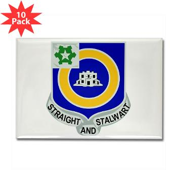 1B41IR - A01 - 01 - DUI - 1st Bn - 41st Infantry Regt - Rectangle Magnet (10 pack)