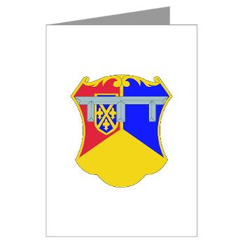 1B66AR - M01 - 02 - DUI - 1st Bn - 66th Armor Regt - Greeting Cards (Pk of 10)