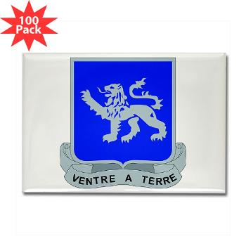 1B68AR - M01 - 01 - DUI - 1st Bn - 68th Armor Regiment Rectangle Magnet (100 pack)