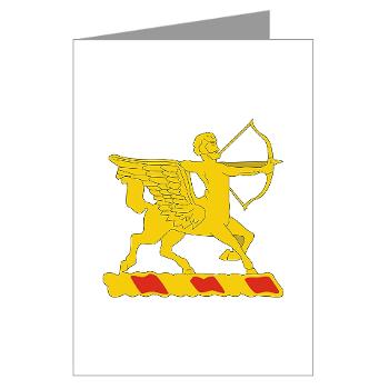 1B6FAR - M01 - 02 - DUI - 1st Bn - 6th FA Regt - Greeting Cards (Pk of 10)