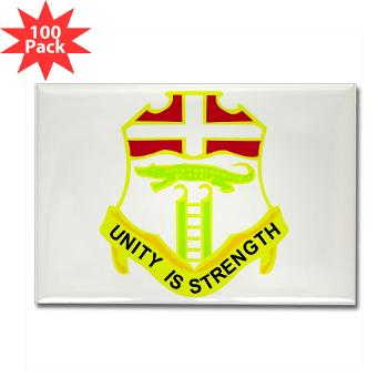 1B6IR - M01 - 01 - DUI - 1st Bn - 6th Infantry Regt - Rectangle Magnet (100 pack)
