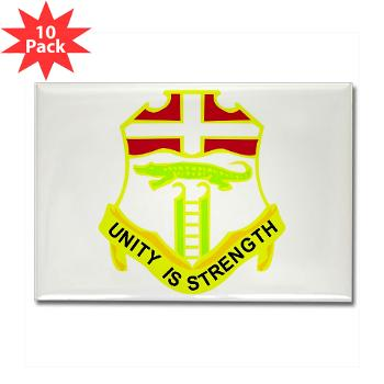 1B6IR - M01 - 01 - DUI - 1st Bn - 6th Infantry Regt - Rectangle Magnet (10 pack)