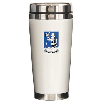 1B77AR - M01 - 03 - DUI - 1st Bn - 77th Armor Regt - Ceramic Travel Mug