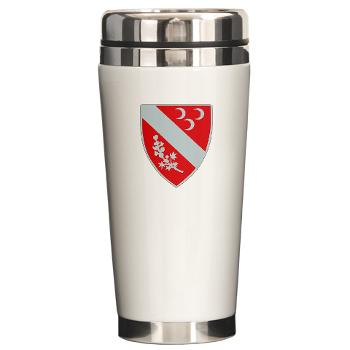 1B7FAR - M01 - 03 - DUI - 1st Bn - 7th FA Regt Ceramic Travel Mug