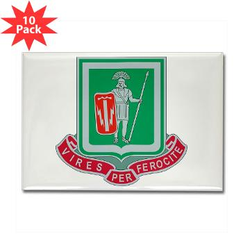 1BCTI1BCTSTB - M01 - 01 - DUI - 1st BCT - Special Troops Bn - Rectangle Magnet (10 pack)