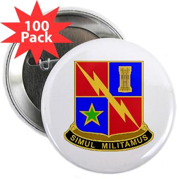 "1BCTSTB - M01 - 01 - DUI - 1st BCT - Special Troops Battalion 2.25"" Button (100 pack)"