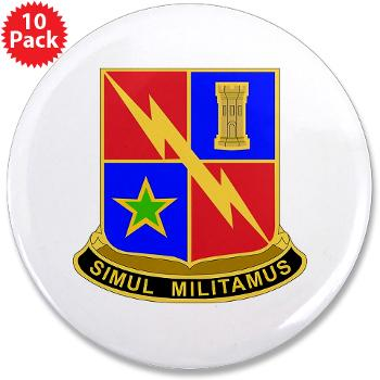 "1BCTSTB - M01 - 01 - DUI - 1st BCT - Special Troops Battalion 3.5"" Button (10 pack)"