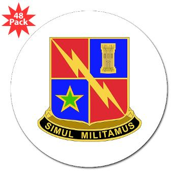 "1BCTSTB - M01 - 01 - DUI - 1st BCT - Special Troops Battalion 3"" Lapel Sticker (48 pk)"