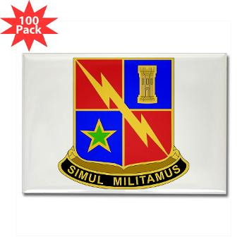 1BCTSTB - M01 - 01 - DUI - 1st BCT - Special Troops Battalion Rectangle Magnet (100 pack)