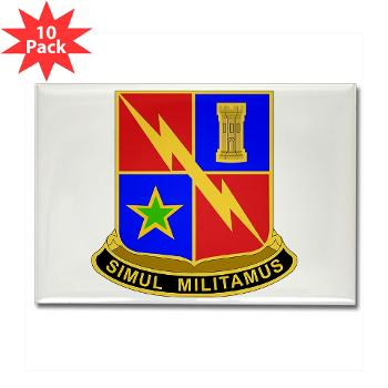 1BCTSTB - M01 - 01 - DUI - 1st BCT - Special Troops Battalion Rectangle Magnet (10 pack)