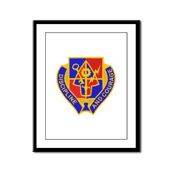 1BSTB - M01 - 02 - DUI - 1st Bde Special Troops Battalion Framed Panel Print