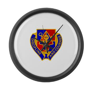 1BSTB - M01 - 03 - DUI - 1st Bde Special Troops Battalion Large Wall Clock