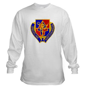 1BSTB - A01 - 03 - DUI - 1st Bde Special Troops Battalion Long Sleeve T-Shirt