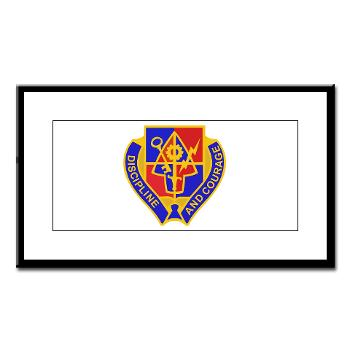 1BSTB - M01 - 02 - DUI - 1st Bde Special Troops Battalion Small Framed Print