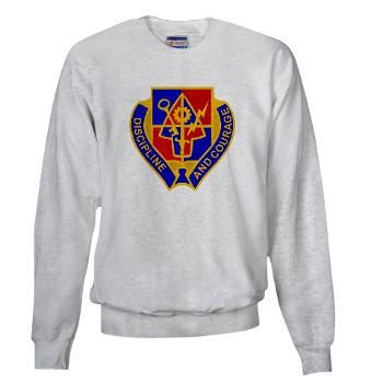 1BSTB - A01 - 03 - DUI - 1st Bde Special Troops Battalion Sweatshirt