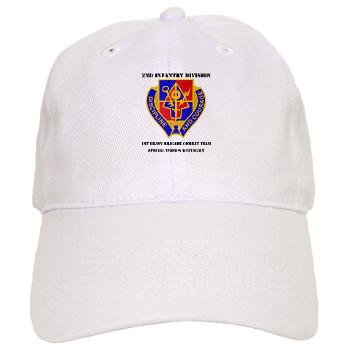 1BSTB - A01 - 01 - DUI - 1st Bde Special Troops Battalion with Text Cap