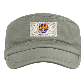 1BSTB - A01 - 01 - DUI - 1st Bde Special Troops Battalion with Text Military Cap