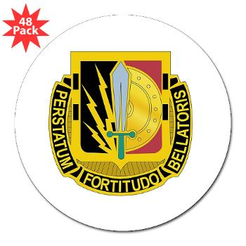 "1CAV2BCTSTB - M01 - 01 - DUI - 2nd BCT - Special Troops Bn - 3"" Lapel Sticker (48 pk)"