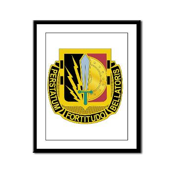 1CAV2BCTSTB - M01 - 02 - DUI - 2nd BCT - Special Troops Bn - Framed Panel Print