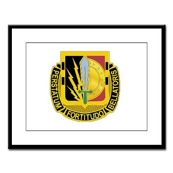 1CAV2BCTSTB - M01 - 02 - DUI - 2nd BCT - Special Troops Bn - Large Framed Print