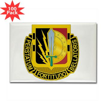 1CAV2BCTSTB - M01 - 01 - DUI - 2nd BCT - Special Troops Bn - Rectangle Magnet (100 pack)