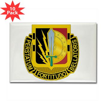 1CAV2BCTSTB - M01 - 01 - DUI - 2nd BCT - Special Troops Bn - Rectangle Magnet (10 pack)