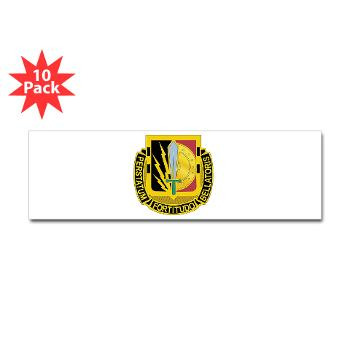 1CAV2BCTSTB - M01 - 01 - DUI - 2nd BCT - Special Troops Bn - Sticker (Bumper 10 pk)