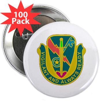 "1CAV4BCTSTB - M01 - 01 - DUI - 4th BCT - Special Troops Bn - 2.25"" Button (100 pack)"