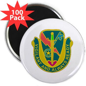 "1CAV4BCTSTB - M01 - 01 - DUI - 4th BCT - Special Troops Bn - 2.25"" Magnet (100 pack)"