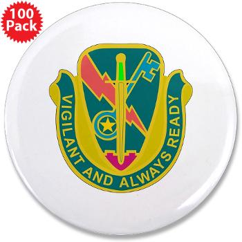 "1CAV4BCTSTB - M01 - 01 - DUI - 4th BCT - Special Troops Bn - 3.5"" Button (100 pack)"
