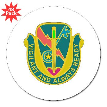 "1CAV4BCTSTB - M01 - 01 - DUI - 4th BCT - Special Troops Bn - 3"" Lapel Sticker (48 pk)"
