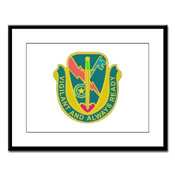 1CAV4BCTSTB - M01 - 02 - DUI - 4th BCT - Special Troops Bn - Large Framed Print