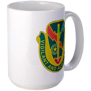 1CAV4BCTSTB - M01 - 03 - DUI - 4th BCT - Special Troops Bn - Large Mug