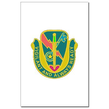 1CAV4BCTSTB - M01 - 02 - DUI - 4th BCT - Special Troops Bn - Mini Poster Print