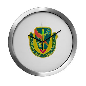 1CAV4BCTSTB - M01 - 03 - DUI - 4th BCT - Special Troops Bn - Modern Wall Clock