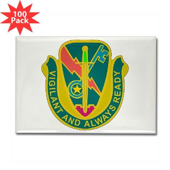 1CAV4BCTSTB - M01 - 01 - DUI - 4th BCT - Special Troops Bn - Rectangle Magnet (100 pack)
