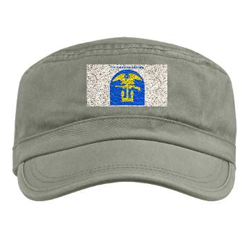 1EB - A01 - 01 - SSI - 1st Engineer Brigade with Text - Military Cap