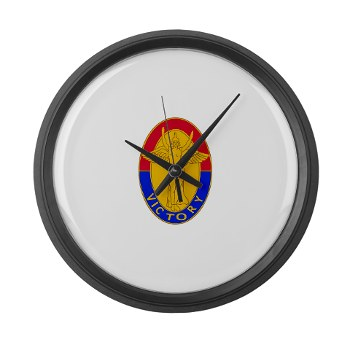 1ID - M01 - 03 - DUI - 1st Infantry Division Large Wall Clock