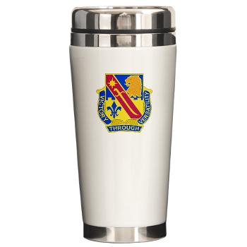 1ID1BCTSTB - M01 - 03 - DUI - 1st BCT - Special Troops Bn - Ceramic Travel Mug