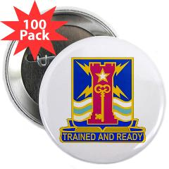 "1ID4BCTSTB - M01 - 01 - DUI - 4th BCT - Special Troops Battalion - 2.25"" Button (100 pack)"