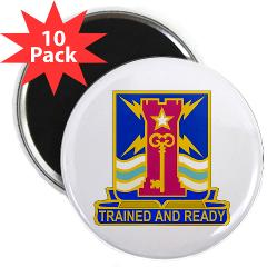"1ID4BCTSTB - M01 - 01 - DUI - 4th BCT - Special Troops Battalion - 2.25"" Magnet (10 pack)"
