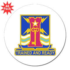 "1ID4BCTSTB - M01 - 01 - DUI - 4th BCT - Special Troops Battalion - 3"" Lapel Sticker (48 pk)"